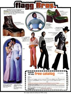 Super Fly Seventies Fashion From The Flagg Bros –