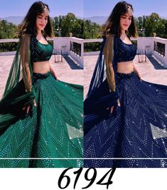 Order #6194 Georget with Embroidery work Lehenga CHOLI₹1865 on WhatsApp number +919619659727 or ArtistryC.in