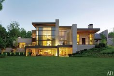 A Contemporary Nashville House for Philanthropists Jennifer and Billy Frist : Architectural Digest