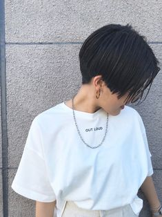 Short Hair Tomboy, Girl Short Hair, Long Pixie Cuts, Hair Color For Black Hair, Different Hairstyles, Dream Hair, Short Bob Hairstyles, Pixie Haircut, Haircuts For Men