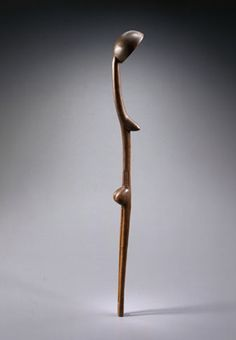 Zulu spoon, Louvre - Between anthropomorphism and abstraction, the example of Dan spoons Ivory Coast - Lucas Ratton