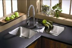 My current kitchen sink design that is beautiful but awkward. Maybe someday I will change it.