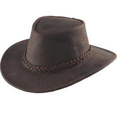 Men Kakadu Soaka Hat Brown Micro Suede wide brim western cowboy aussie outback