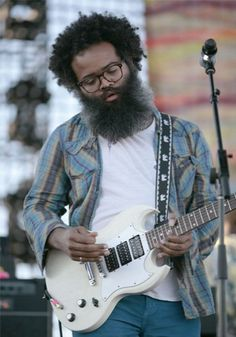 Kyp Malone, Tv On The Radio = excellent beard, even better band.