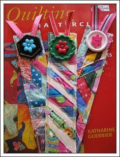 Crazy Quilt Bookmarks