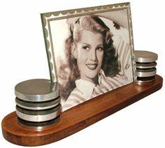 Original 1930s Art Deco Picture Frame Pinned by https://www.itsalight.co.uk to Art Deco #atrdeco #design