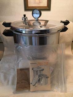 Vintage 1983 Deluxe PRESTO Pressure Cooker Canning Supplies # 01780  #PrestoDeluxe