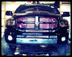 Pink grille and pink badges. Another idea I got from TS fuel girl Lindsay Jo.