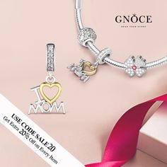 "Mother can change your world; make you happy and let family warm. Send this gift for her on coming Mother's Day. I Love Mom Pendant: http://www.gnoce.com/i-love-mom-pendant-bnct53.html More gift ideas: http://www.gnoce.com/charm/family-friends.html Use code ""sale20"" for extra 20% off + free bracelet on $99+ orders. #gnoce #gnocecharms #jewelry #stopper #friend #bracelet #zodiacsign #love #travel #nature #flower #animal #design #fashion #girl #cool #gift #art #charm #bead #silver #idea"