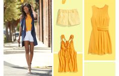 Gorgeous marigold collection of clothes from Stitch Fix. Look how striking it is when paired with white?! Love it!