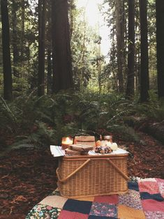 A picnic - so romantic.  Growing up I had a red quilt on my bed like the one in this pic that my mom made me.....<3