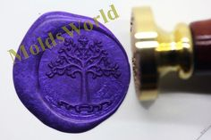 S1089 Tree of Life Wax Seal Stamp  Sealing wax stamp by MoldsWorld