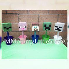 JUMBO MINECRAFT CREEPER inspirado centro de por MMommyLittleShop