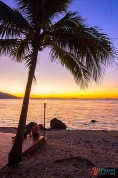 Sunset on Daydream Island, Queensland, Australia