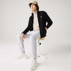 Lacoste Sport | Preview | LACOSTE Sweat Shirt, Sweatshirt Homme, Lacoste Sport, Top Luxury Brands, Luxury Branding, Normcore, Tops, Style, Products