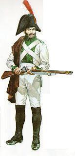 Regno di Spagna - Fuciliere del reggimento di Saragozza 1808