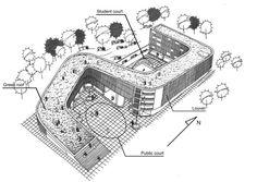Colegio entre árboles - Noticias de Arquitectura - Buscador de Arquitectura