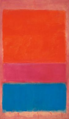 ONE Sotheby's will be participating in the upcoming Contemporary Art Auction in NYC that will feature pieces by Mark Rothko, Andy Warhol, Willem DeKooning and others. This piece is by Mark Rothko. #art #sothebys #realestate