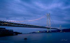 Akashi Kaikyō Bridge by Viki Pandit - Photo 137037319 - 500px