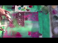 {VIDEO} REDEFINE the Doodle: inspirations + mark-making {art journaling. collage. mixed media online workshop by traci bautista}