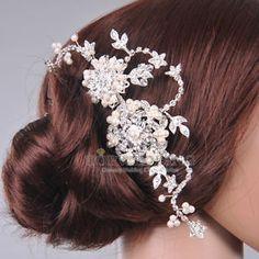 broche cheveux mariage - Recherche Google