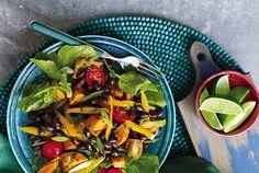 Slimming Superfood Recipe: Roasted Sweet Potato and Black Bean Salad