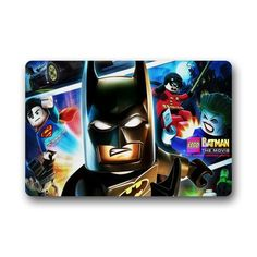 Scottshop Custom Creative Lego Batman Superheroes Personalized Outdoor / Indoor Doormat Floor Mats Non-Slip Machine Washable Bathroom Mats£¬30'(L) x 18'(W) Welcome Decor Rug ** More info could be found at the image url. (This is an affiliate link) #Doormats