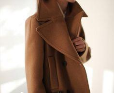 Beautiful camel coat. And nice shot too.