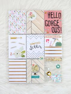How to make Pocket Page Letters