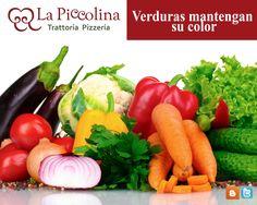 Conoce los secretos de LaPiccolina Para lograr que las #verduras mantengan un color brillante y natural, inmediatamente después de cocerlas hay que sumergirlas en agua helada.