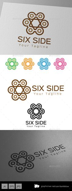 Six Side Vintage Ornament Logo — JPG Image #africa #totem • Available here → https://graphicriver.net/item/six-side-vintage-ornament-logo/9249288?ref=pxcr