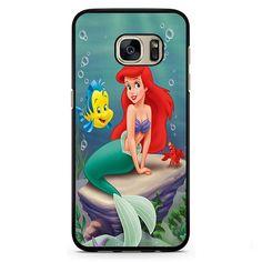 Ariel The Little Mermaid Cartoon Movie Phonecase Cover Case For Samsung Galaxy S3 Samsung Galaxy S4 Samsung Galaxy S5 Samsung Galaxy S6 Samsung Galaxy S7