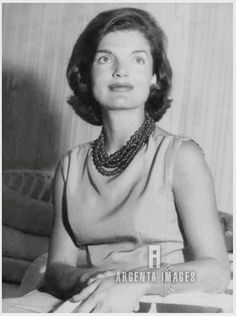"""First Lady Mrs ~~Jacqueline Lee (Bouvier) Kennedy Onassis """"Jackie"""" (July 28, 1929 – May 19, 1994). She is remembered for her contributions to the arts and preservation of historic architecture, her style, elegance, and grace. She was a fashion icon; her famous ensemble of pink Chanel suit and matching pillbox hat has become symbolic of her husband's assassination and one of the lasting images of the 1960s .♥❃❋✽✾❀❃ ♥    http://en.wikipedia.org/wiki/Jacqueline_Kennedy_Onassis"""