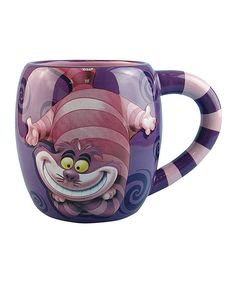 Alice in Wonderland Cheshire Cat 14 oz. Ceramic Mug - Westland Giftware - Alice in Wonderland - Mugs at Entertainment Earth Cat Coffee Mug, Cat Mug, Coffee Cups, Boutique Design, Cat Ideas, Chesire Cat, Diy Kit, Disney Mugs, Cool Mugs