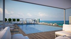 Beachwalk Miami Modern Luxury Waterfront Condos Pool Www Beachwalkcondosmiami Hallandale Beach
