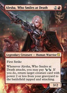 Alesha Who Smiles at Death mtg proxy