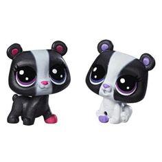 Littlest Pet Shop Black & White BFFs
