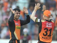 IPL Rashid, Warner star in thumping SRH win - Times of India Ipl 2017, David Warner, Cricket News, Times Of India, Sunrises, Hyderabad, Stars, Sunrise, Star