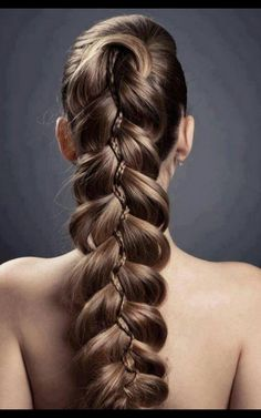 Intricate Braided #Hairstyle