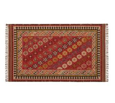 Ferada Kilim Rug #potterybarn - for the kitchen in front of the sink?