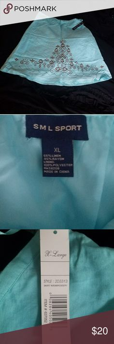 💟New listing💟 SML Sport Skirt This skirt is brand new and is very pretty. SML Sport Skirts
