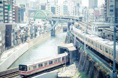 Hijiri-bashi JCT Language Of Japan, Metro Rail, Japanese Photography, Mad World, Island Nations, Transportation Design, Yokohama, Osaka, Art Studios