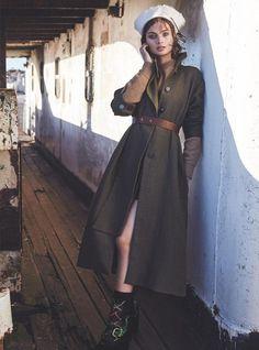 Моа Аберг в истории On The Fair Seas для Marie Claire Australia (Интернет-журнал ETODAY)