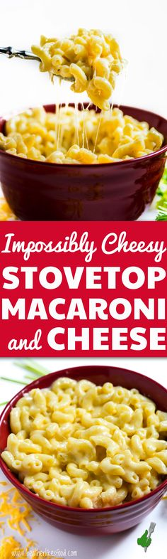 Warning: this Homemade Mac and Cheese is not a health food. Eat at your own, cheesey, creamy, delicious risk. You won't be sorry.