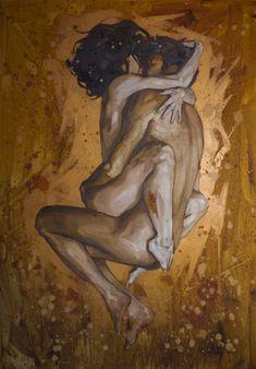 "Artist - Oleksii Gnievyshev ""Love"" oil on canvas cm Oil On Canvas, Canvas Art, Canvas Ideas, Canvas Size, Love Oil, Rodin, Love Painting, Buy Prints, Deco"