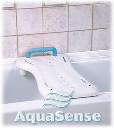 AquaSense Bath Board with Handle