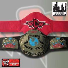 WCW TAG TEAM CHAMPIONSHIP KID SIZE REPLICA WRESTLING BELT
