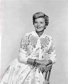 dress + cardigan, June Cleaver style
