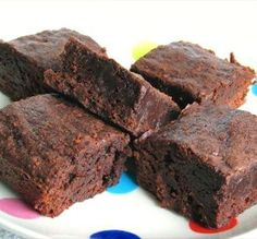 "Low-Fat Fudge Brownies: ""These are wonderful, dense, fudgy brownies! I will definitely make these again."" -Mgnbos"