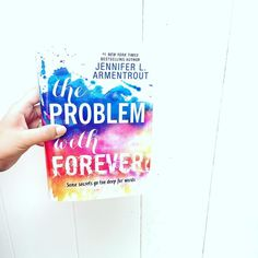 I CAN'T WITH THIS BOOK! The Problem with Forever by @authorjlarmentrout brought out all the feels. It was a real raw emotional roller coaster that I couldn't put down. It also made me sob. Sob really hard. I'm in with this book. This story. Rider and Mallory and all the other characters. This was one of my most anticipated books of the year and it's now one of my favorites. Jennifer's best work yet! {full review to come on the blog} . . .  #jla #jenniferlarmentrout #theproblemwithforever…